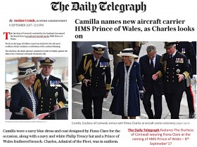 Telegraph-HRH_at_HMS_Prince_of_W